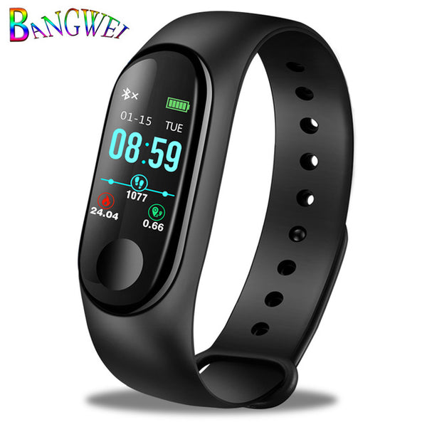 TechNiche Unisex Smart Watch Heart Rate Blood Pressure oxygen Sleep Monitor Pedometer Fitness Sport Android and IOS