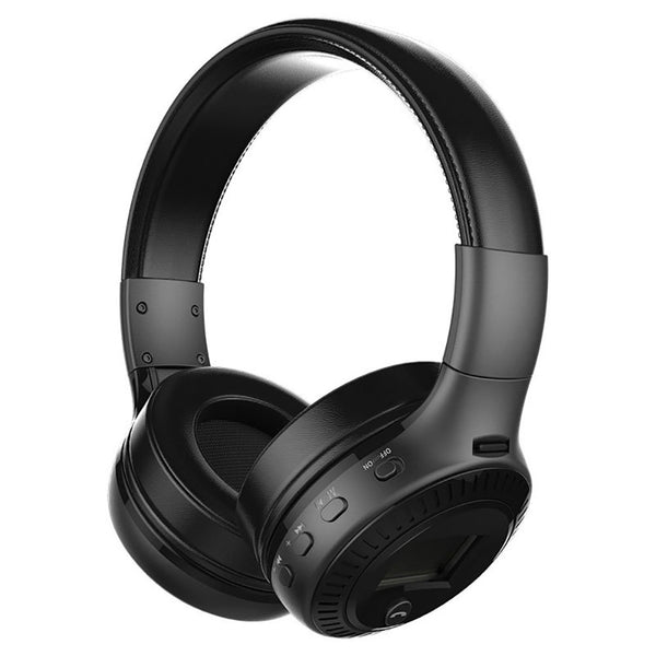 TechNiche Wireless Bluetooth Headphones with Noise Cancelling Over-Ear Stereo Earphones TF
