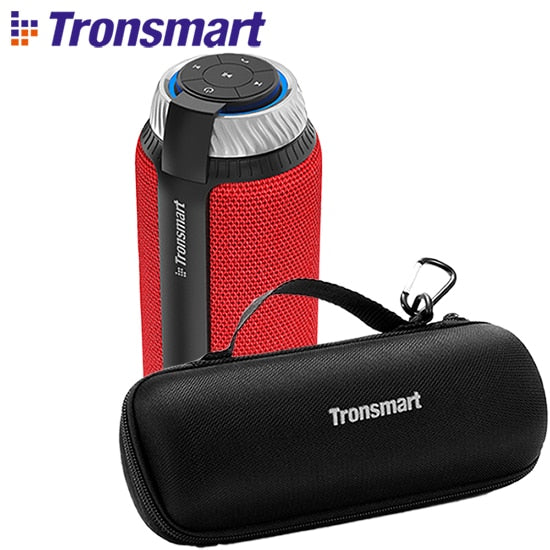 TechNiche Tronsmart Element T6 Bluetooth Speaker Column Portable Speaker Subwoofer 25W with 360 Stereo Sound Speakers for computer