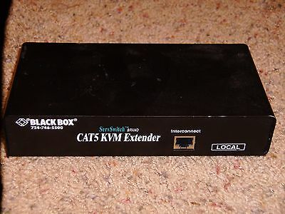 SERVSWITCH BRAND CAT5 KVM EXTENDER WITH