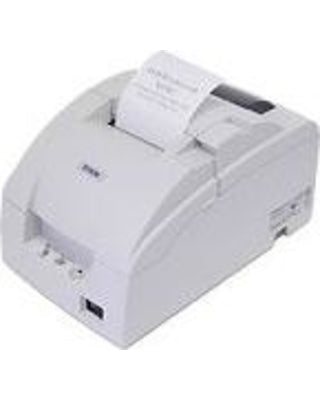 EPSON, TM-U220PD, DOT MATRIX RECEIPT PRINTER, PARALLEL, EPSON COOL WHITE, NO AUTOCUTTER, POWER SUPPLY INCLUDED
