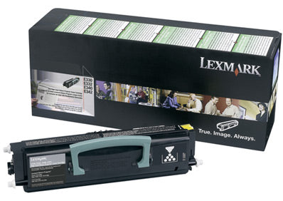 Lexmark E330, E340, E332, E342 High Yield Return Program Toner Cartridge Original Black