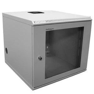 StarTech.com CAB1019WALL rack 132.3 lbs (60 kg) Wall mounted rack 10U White