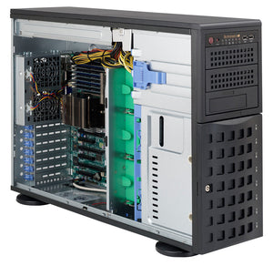 Supermicro SC745TQ-R800B Full-Tower Black