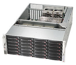 Supermicro SuperChassis 846BE16-R920B Rack Black 920 W