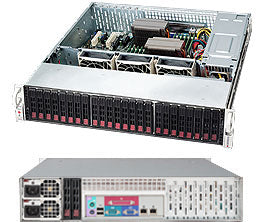 Supermicro SuperChassis 216BE26-R920LPB network equipment chassis Black