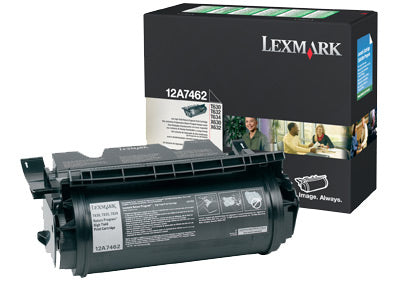 Lexmark 12A7462 toner cartridge Original Black 1 pcs