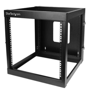 StarTech.com RK1219WALLOH rack 139.8 lbs (63.4 kg) Wall mounted rack 12U Black