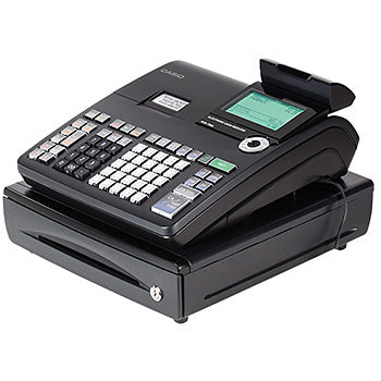 Casio PCR-T500 cash register 3000 PLUs LCD