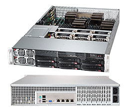 Supermicro AS-2042G-72RF4 server barebone AMD SR5690 Socket G34 2U Black