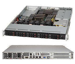Supermicro SC116AC-R700WB Rack Black 700 W