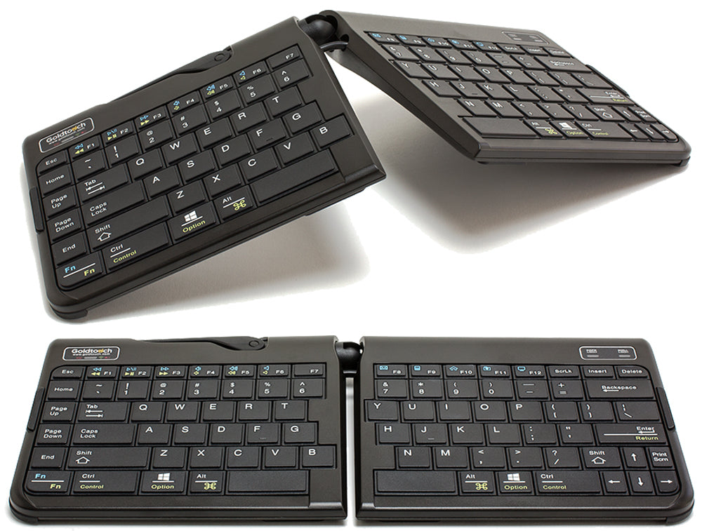 Goldtouch GTP-0044W keyboard Bluetooth QWERTY English Black