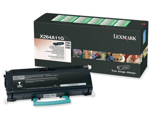 Lexmark X264A11G toner cartridge Original Black 1 pcs