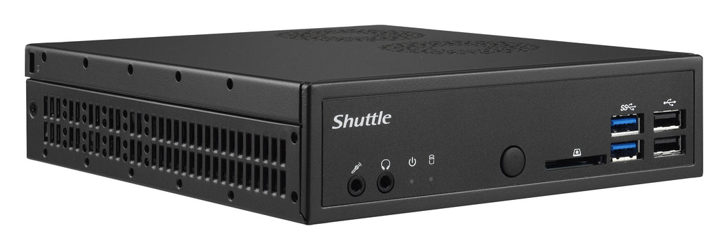 Shuttle DH170 PC/workstation barebone IntelA® H170 LGA 1151 (Socket H4) 1.3L sized PC Black
