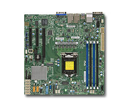 Supermicro X11SSH-F server/workstation motherboard LGA 1151 (Socket H4) microATX IntelA® C236