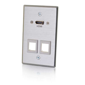 C2G 60158 wall plate/switch cover Metallic