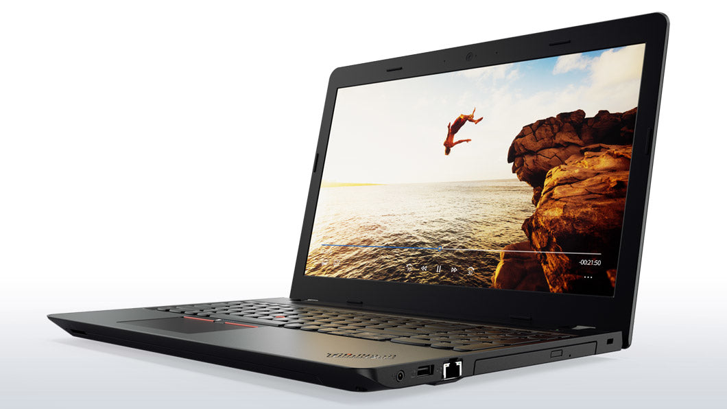 Lenovo ThinkPad E575 Black Notebook 15.6