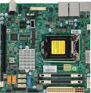 Supermicro X11SSV-LVDS server/workstation motherboard LGA 1151 (Socket H4) Mini-ITX Intel Q170 Express