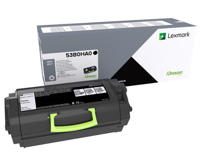 Lexmark 53B0HA0 toner cartridge Original Black 1 pcs