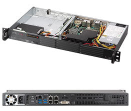 Supermicro SuperServer 5019S-TN4 IntelA® C236 BGA 1440 1U Black