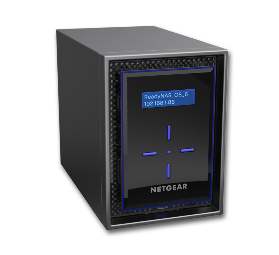Netgear ReadyNAS 422 Ethernet LAN Desktop Black NAS