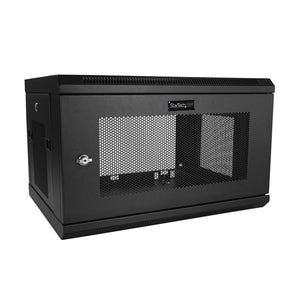 StarTech.com RK616WALM rack 198.4 lbs (90 kg) Wall mounted rack 6U Black
