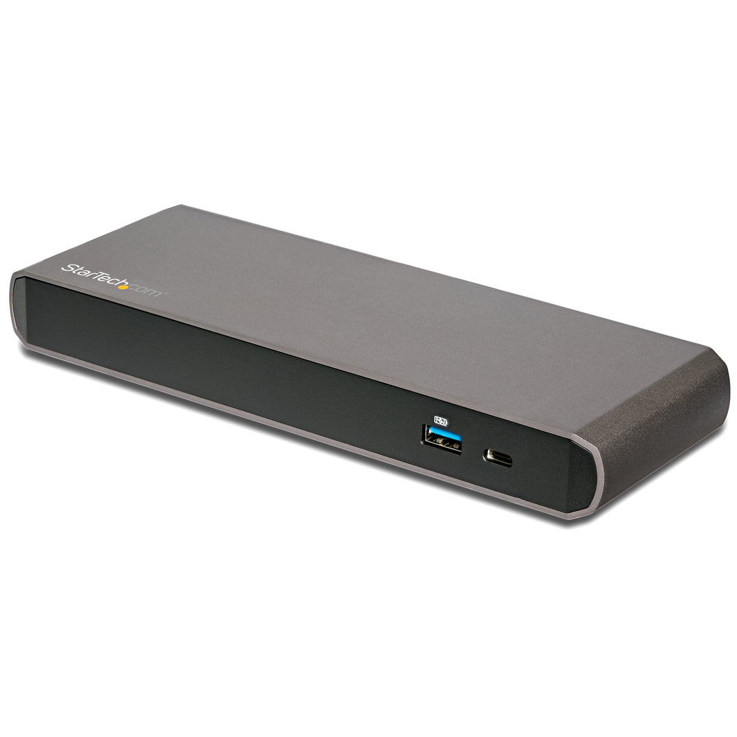 StarTech.com TB3DK2DPPD notebook dock/port replicator USB 3.0 (3.1 Gen 1) Type-C Black,Grey