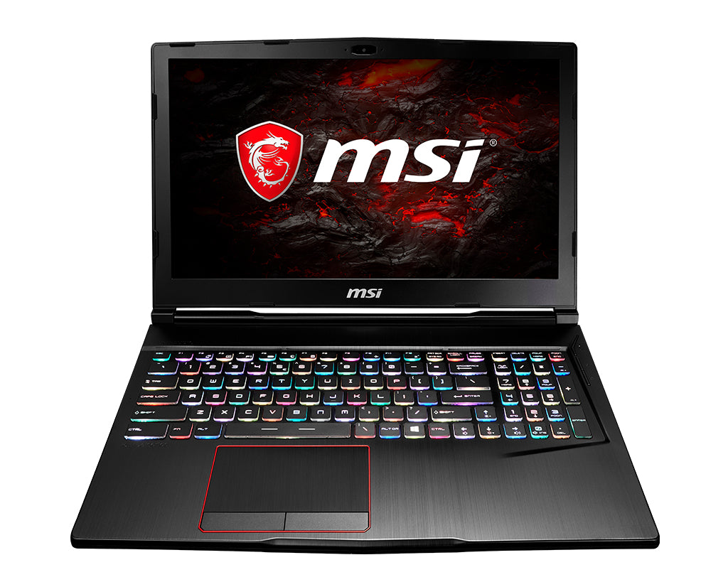 MSI Gaming GE63 RAIDER-008 Black Notebook 15.6