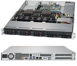 Supermicro SuperServer 1029P-WT IntelA® C621 LGA 3647 1U Black