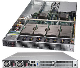 Supermicro SuperServer 1029GQ-TXRT IntelA® C621 LGA 3647 1U Black