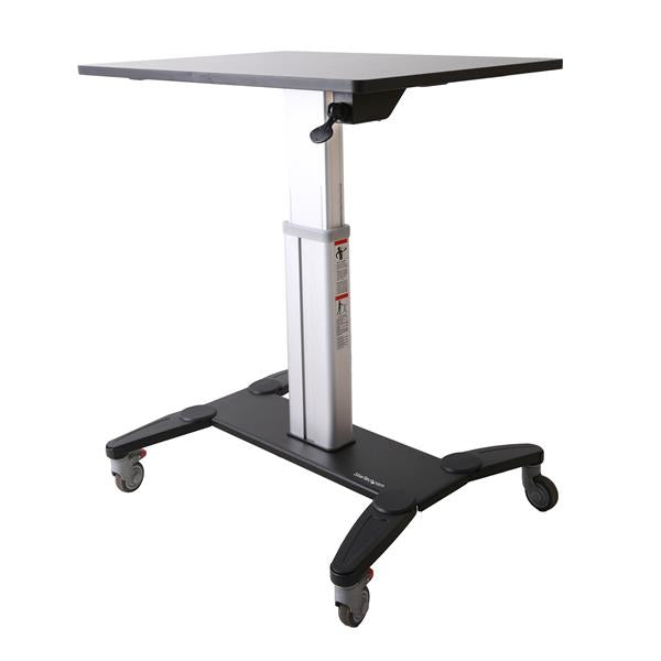 StarTech.com Mobile Sit-Stand Workstation