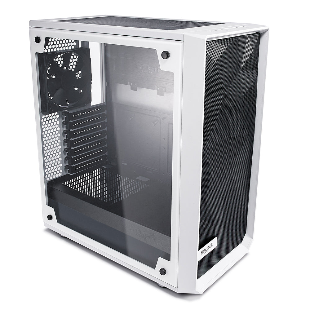 Fractal Design Meshify C - TG Midi-Tower Transparent,White