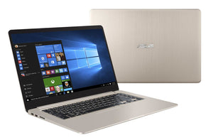 "ASUS VivoBook S15 S510UN-EH76 notebook Gold 15.6"" 1920 x 1080 pixels 1.80 GHz 8th gen IntelA® Corea""? i7 i7-8550U"
