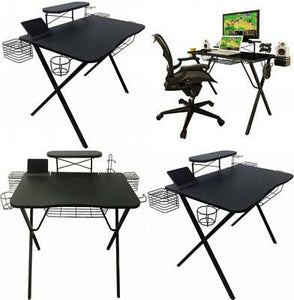 BLACK GAMING DESK PRO