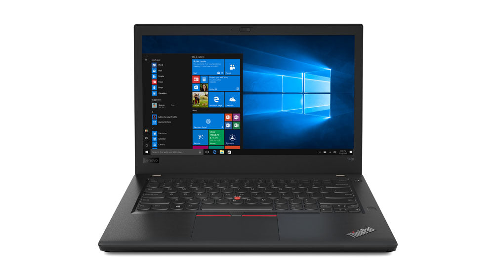 Lenovo ThinkPad T480 Black Notebook 14