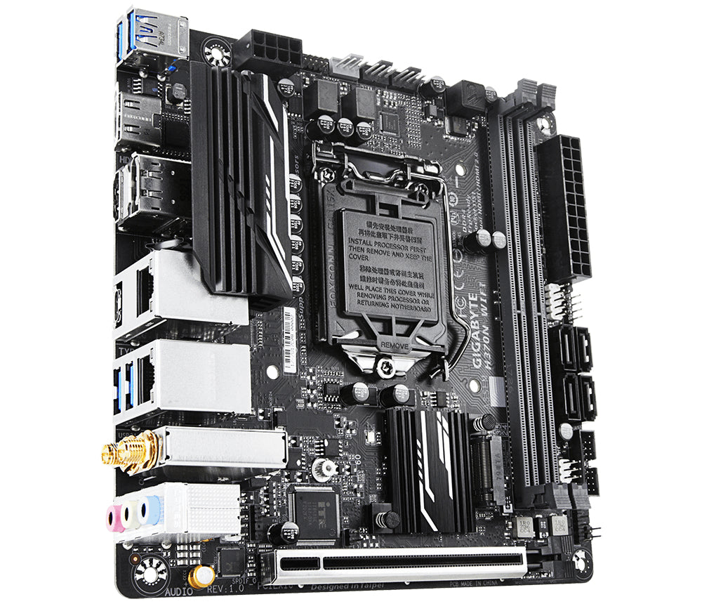 Gigabyte H370N WIFI motherboard LGA 1151 (Socket H4) Mini ITX IntelA® H370