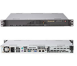Supermicro SC512L-200B Rack Black 200 W