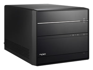 Shuttle XPC cube SH370R6 PC/workstation barebone Black IntelA® H370 LGA 1151 (Socket H4)
