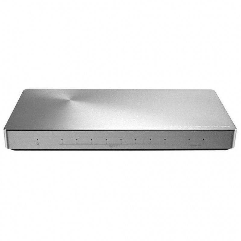 Asus Networking Switch XG-U2008 10-Port Unmanaged Switch Featuring Two 10G Ports Retail