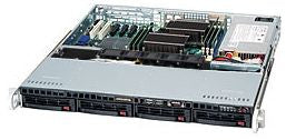 Supermicro 813MTQ-600CB Black 600 W