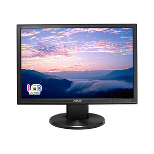 "ASUS VW199T-P computer monitor 19"" Black"