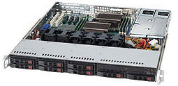 Supermicro 113TQ-R500CB Rack Black 500 W