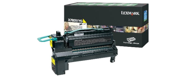 Lexmark X792 YLW Original Yellow 1 pcs