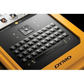 DYMO XTL 500 LABEL MAKER KIT, QWERTY, 2IN, BLACK AND YELLOW, XTL500 PRINTER, CAR