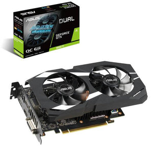 Asus NVIDIA Dual GeForce GTX 1660 Ti OC 6GB GDDR6 DVI/2HDMI/DisplayPort PCI-Express Video Card