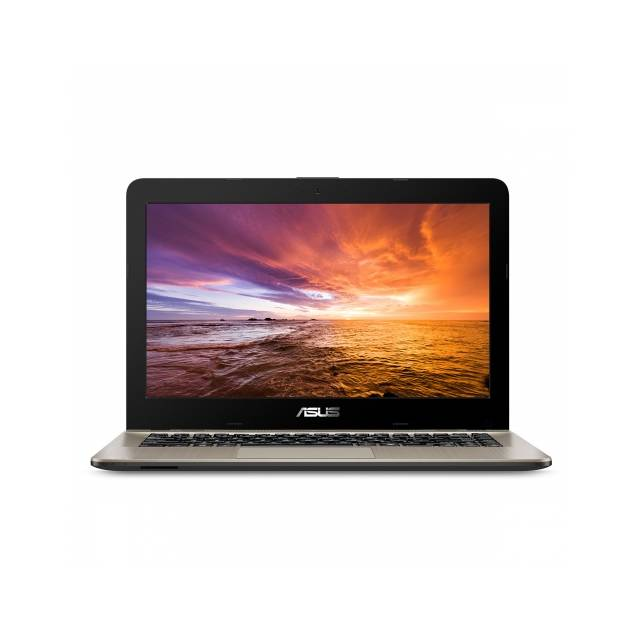 ASUS VivoBook F441BA-DS95 14.0 inch AMD A9-9425 3.1GHz/ 8GB DDR4/ 256GB SSD/ USB3.1/ Windows 10 Notebook (Chocolate Black/Gold)