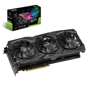 Asus ROG STRIX NVIDIA GeForce GTX 1660 Ti OC 6GB GDDR6 2HDMI/2DisplayPort PCI-Express Video Card