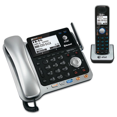 ATT 2 Line Corded/Cordless Phone System, TL86109, With Caller ID/ Call Waiting