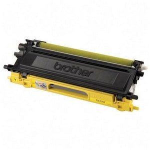 Brother Toner, TN115Y, Yellow, 4,000 pg yield