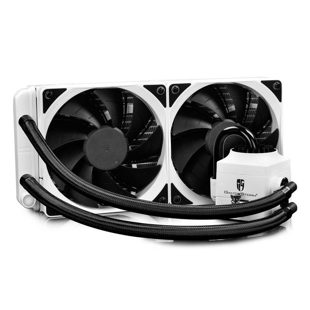 DEEPCOOL CAPTAIN 240EX RGB WHITE 240mm CPU Liquid Cooler for Intel LGA20XX/LGA1366/LGA115X & AMD Socket AM4/AM3+/AM3/AM2+/AM2/FM2+/FM2/FM1